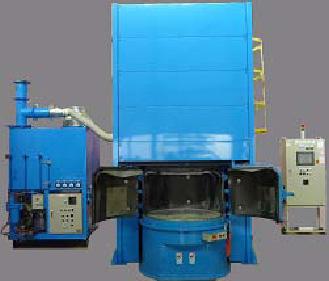 アトックス 遠心投射式ブラスト除染装置